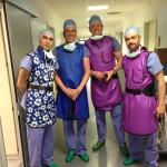 Д-р Василев с колигите от Холандия и Гърция